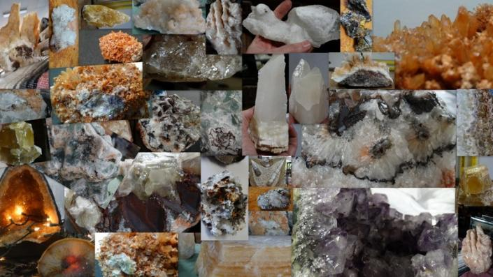 [Image: We have all types, sizes and prices of great rock and mineral pieces!]